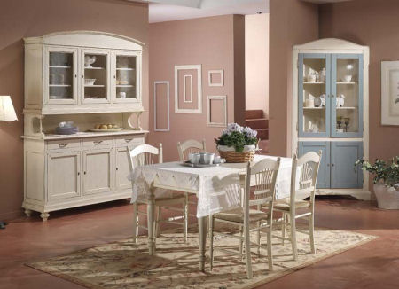 L 39 arredamento country for Arredamento cucina country