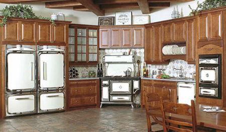 La cucina classica in legno for La cucina classica