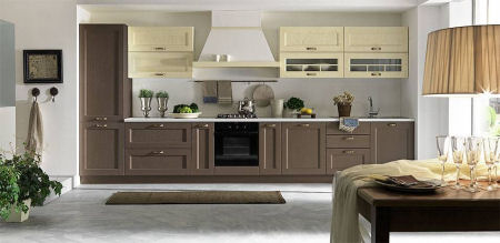 Arredamento Cucina Classico Moderno.Cucine Componibili Arredo Cucina