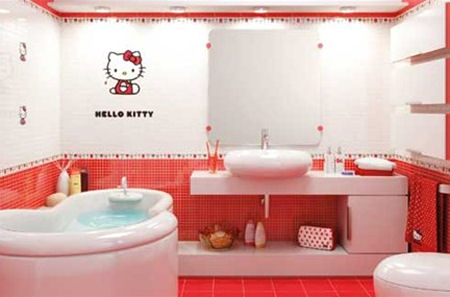 Hello Kitty Accessori Bagno.Arredare Con Hello Kitty