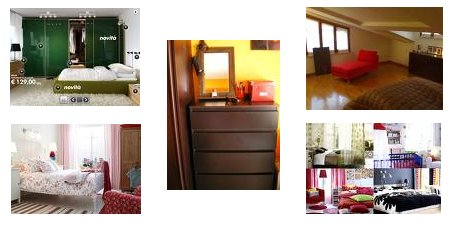 Camera da letto dell 39 ikea - Mobili norvegesi ...