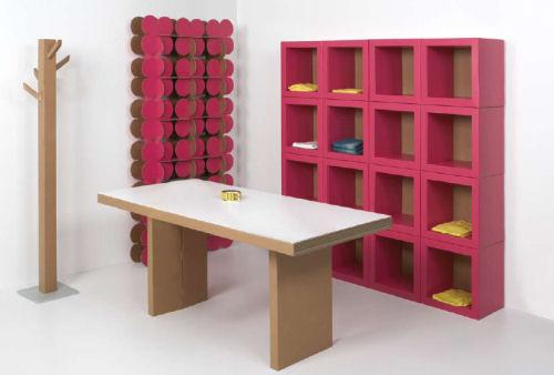 Kubedesign e i mobili in cartone - Mobili in cartone design ...