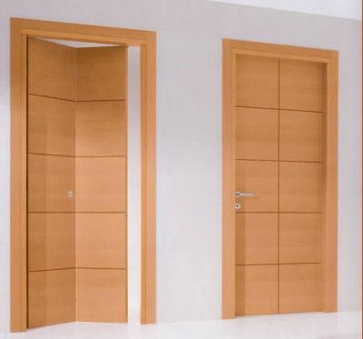 Le porte a soffietto - Porta a soffietto in legno ...