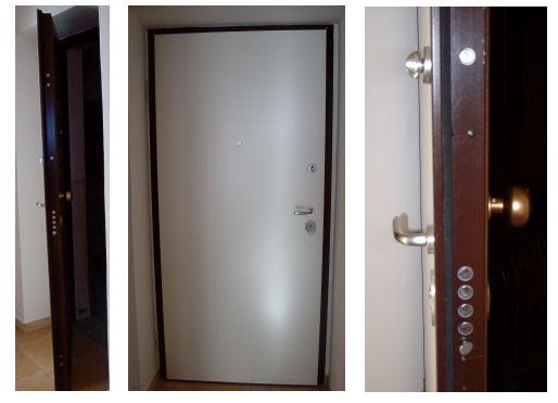 Le porte blindate - Montare una porta a soffietto ...