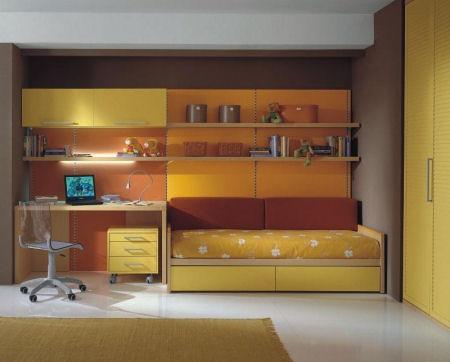 Arredamento camerette ragazzi for Arredare camera da letto ragazzo