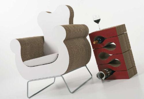 Kubedesign e i mobili in cartone - Mobili di cartone design ...