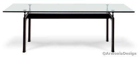 I tavoli - Tavolo cristallo le corbusier ...