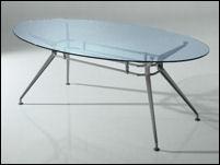 Tavolo Ovale In Vetro. Vidaxl Tavolino In Fibra Di Vetro Bianco With ...