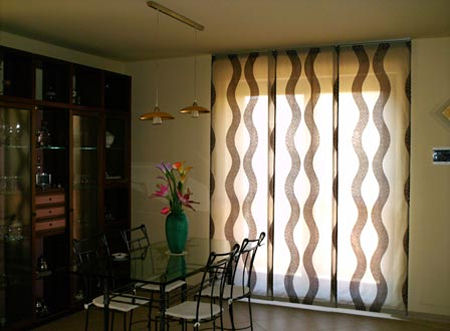 Tende e tessuti per le feste for Tessuti moderni per tende