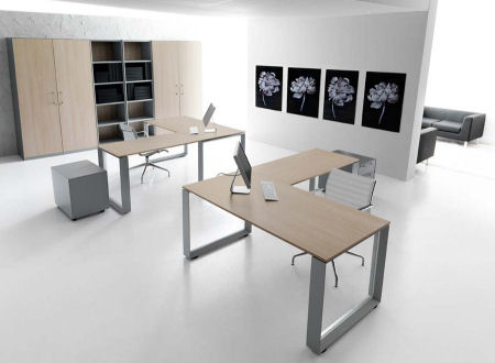 Mobili per l 39 ufficio for Scrivanie ufficio ikea
