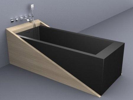 Vasca Da Bagno Rettangolare : Hoesch badewannen vasca da bagno zero