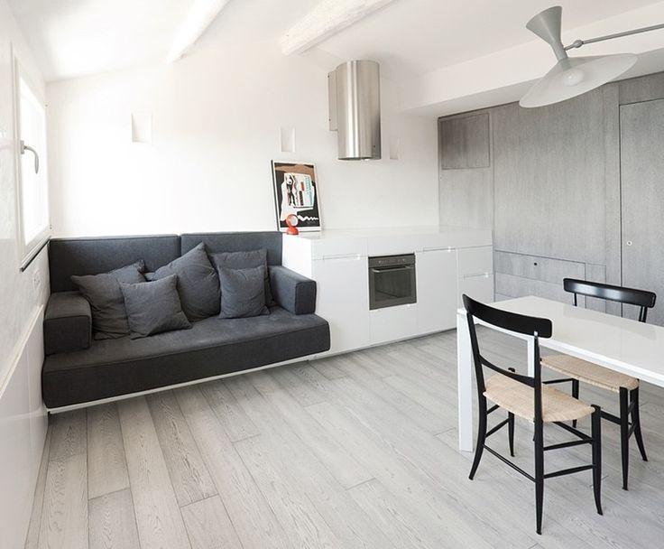Come arredare un appartamento di 35 metri quadrati come for Appartamento di 600 metri quadrati con 2 camere da letto