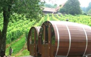 Schlafen im Weinfass1