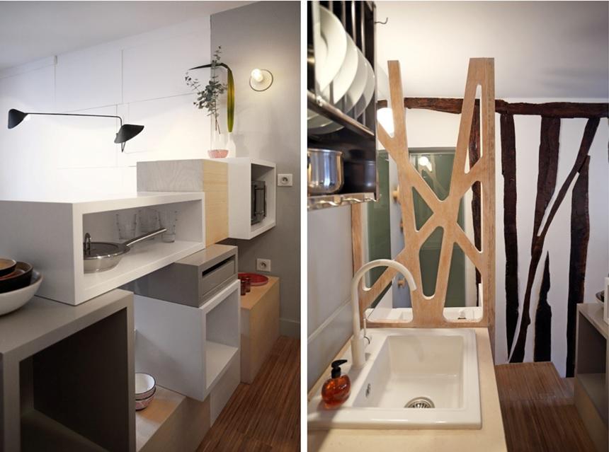 arredamento soggiorno quadrato: idee arredo soggiorno cucina caldo ... - Soggiorno Quadrato 2