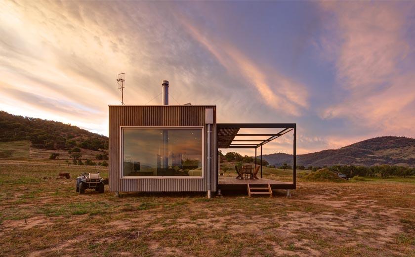 Una casa ecologica in Australia  Come Arredare