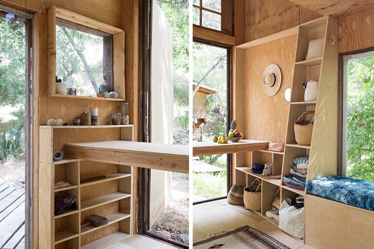 Come costruire un mobile in legno come era il sottocala for Costruire tavolo legno rustico