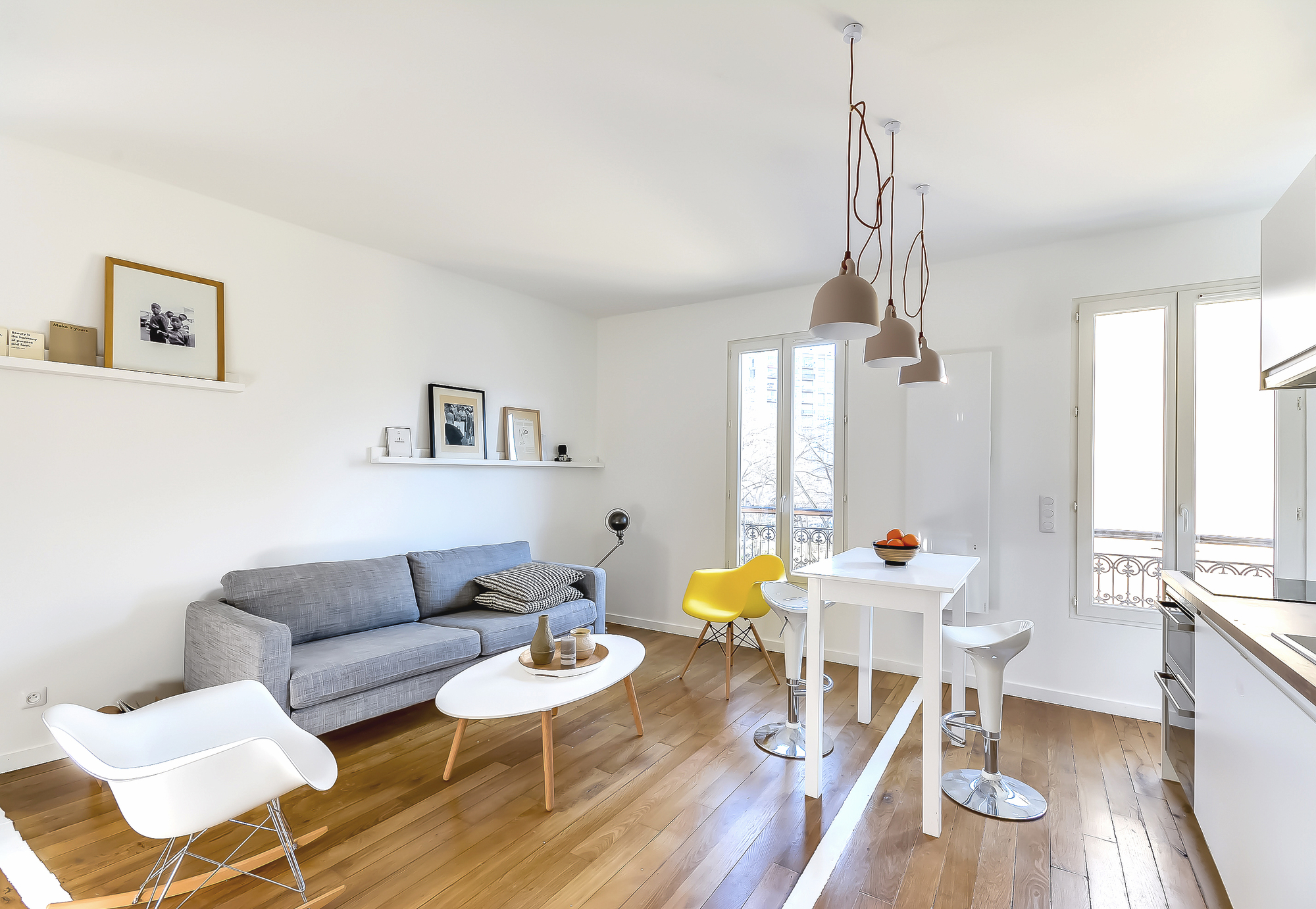 Come arredare un appartamento di 30 metri quadrati come Agencement petit appartement